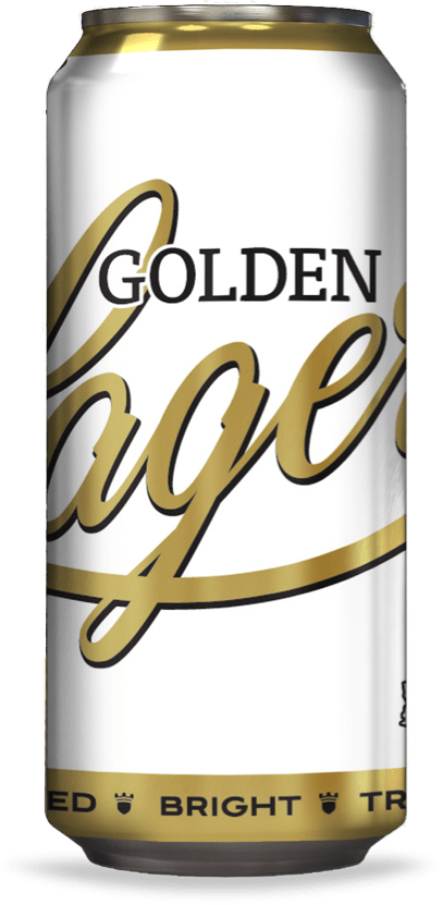 Golden Lager 16 OZ Can