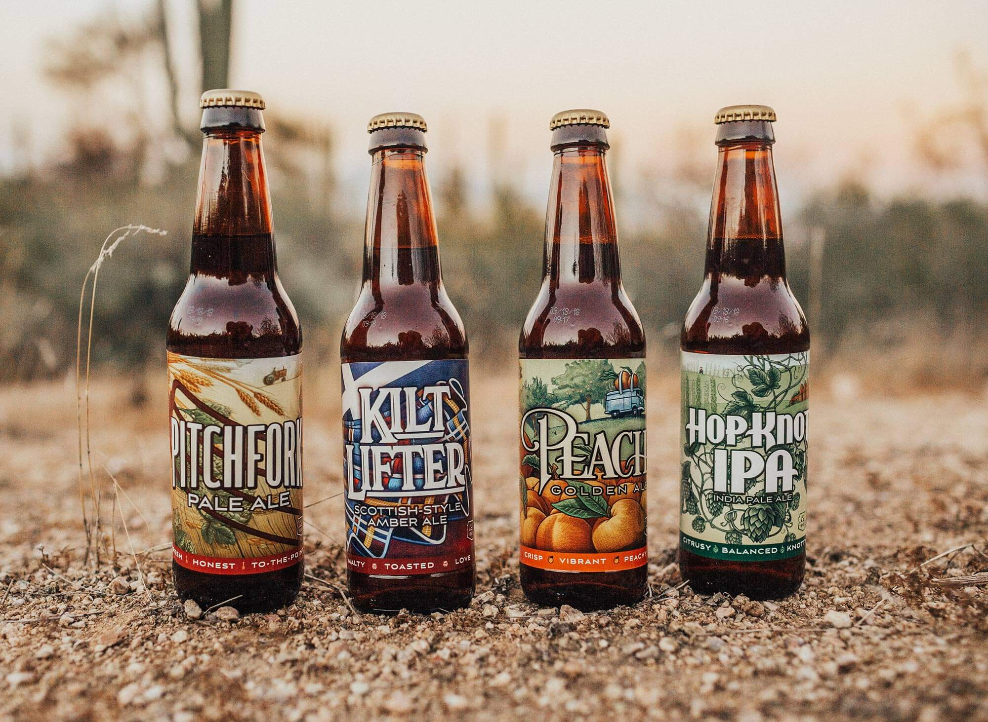 Four Peaks New Packaging