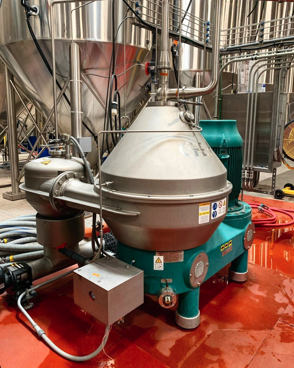 Four Peaks Brewing Co. centrifuge