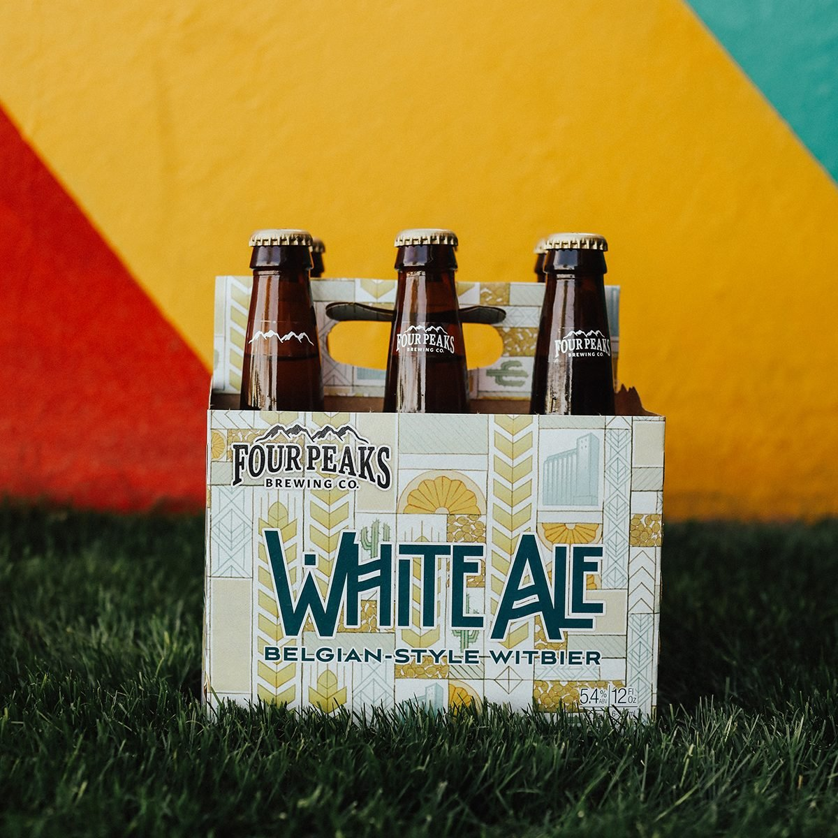 Four Peaks White Ale, a Belgian-style witbier