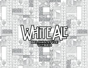 Four Peaks Coloring Book - White Ale