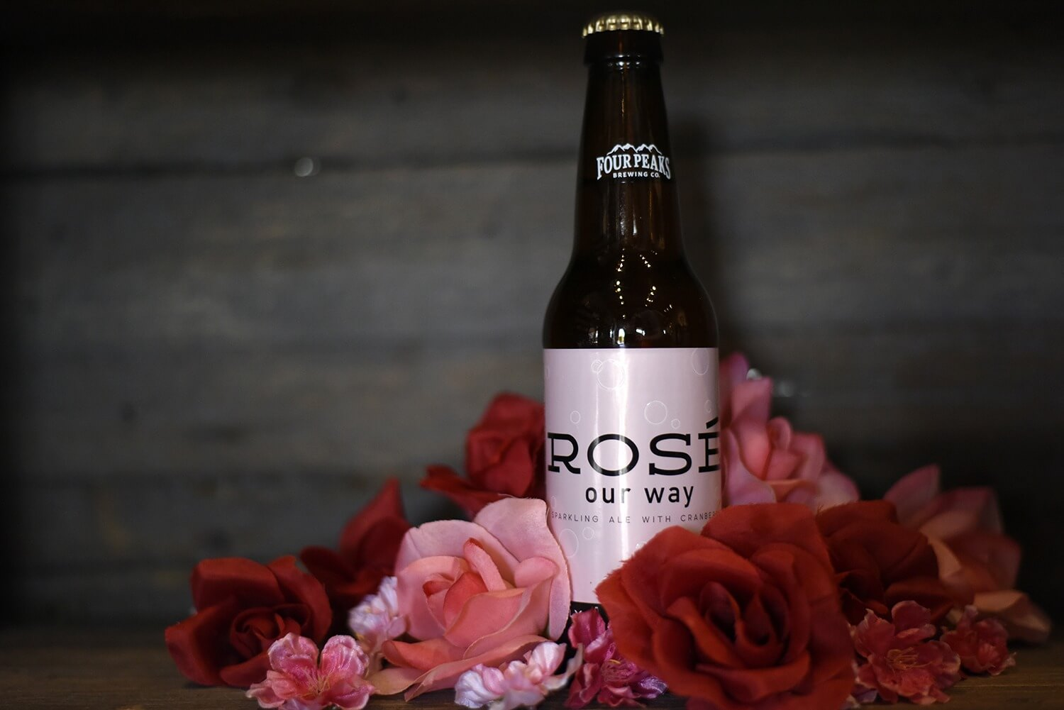 Four Peaks Rose Our Way