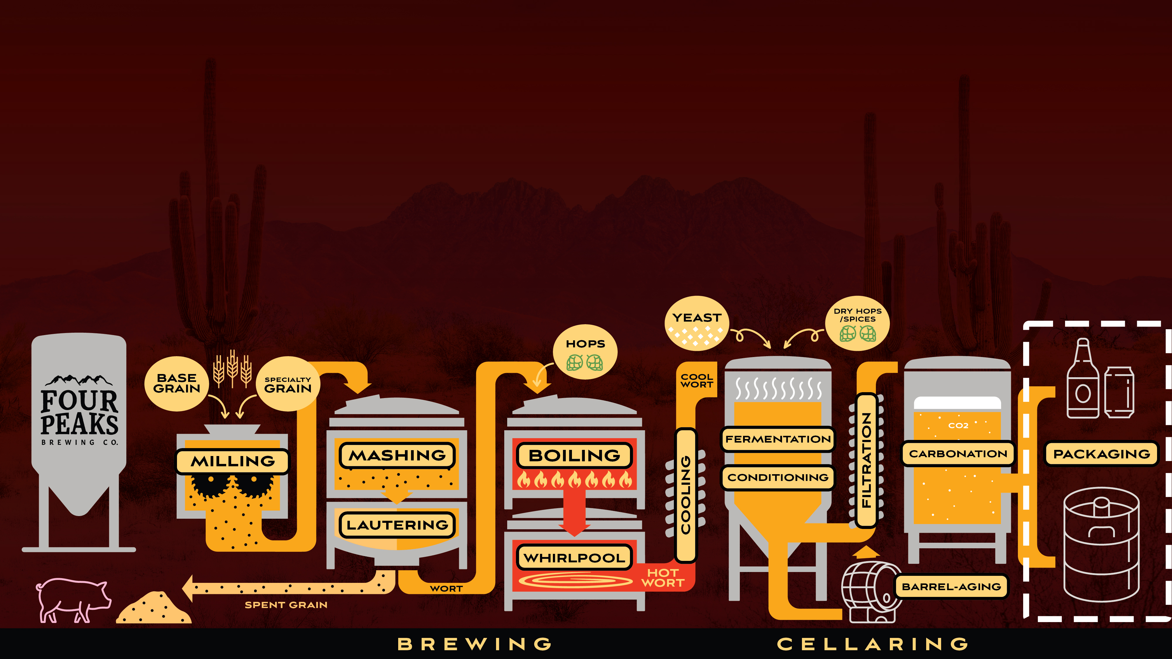 Brewing Process – Packaging